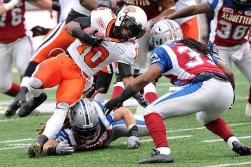 Division Semifinals – BC Lions v Montreal Alouettes