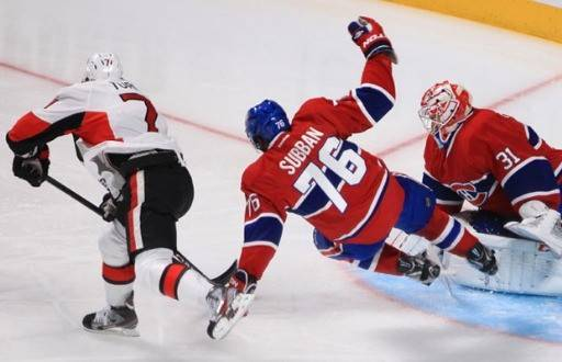 Washington Capitals vs Montreal Canadiens