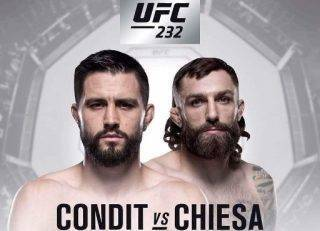 Carlos Condit Vs Michael Chiesa Odds and Betting Preview - UFC 232