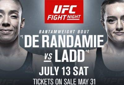 Aspen Ladd vs Germaine de Randamie