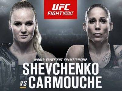 Watch UFC Fight Night 156 Shevchenko vs Carmouche 2 8/10/19
