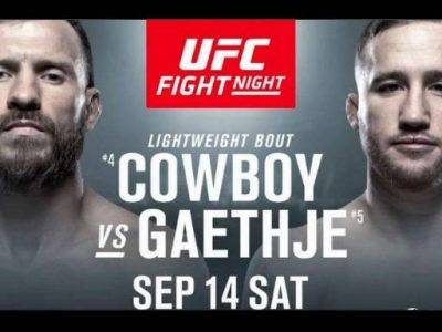 Donald Cerrone vs Justin Gaethje Prediction & Betting Odds