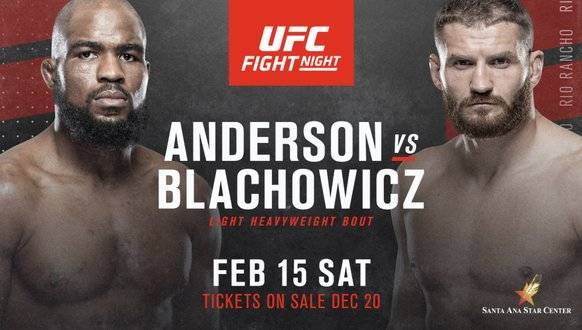 Corey Anderson vs Jan Blachowicz Predictions & Betting Odds – UFC Fight Night 167 Pick