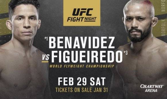 UFC Preview – Joseph Benavidez vs Deiveson Figueiredo Predictions & Betting Odds