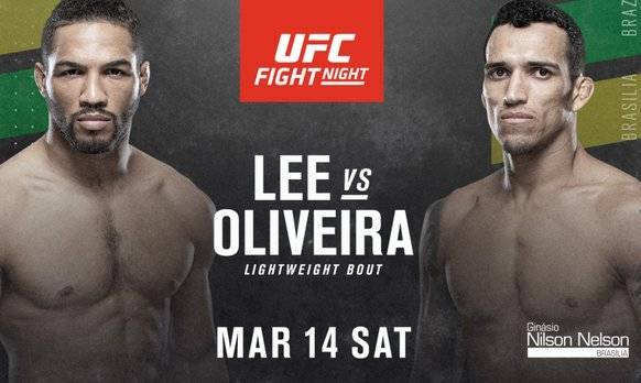 Kevin Lee vs Charles Oliveira Predictions & Betting Odds - UFC Fight Night 170 Picks