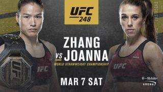 Weili Zhang vs Joanna Jedrzejczyk Predictions & Betting Odds - UFC 248 Pick