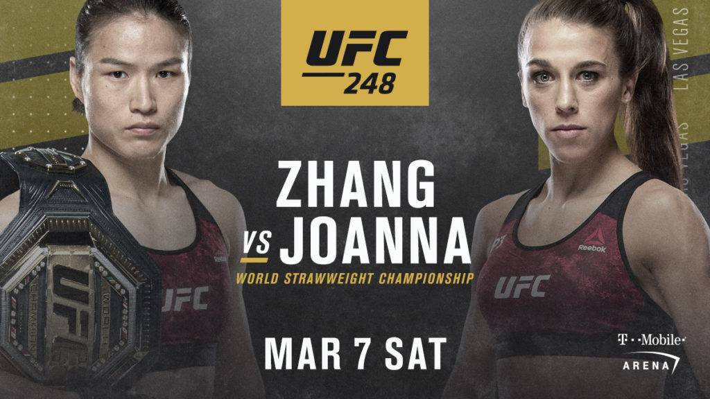 Weili Zhang vs Joanna Jedrzejczyk Predictions & Betting Odds – UFC 248 Pick